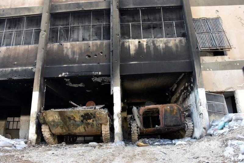 Гусеничная бронетехника. Броня пехоты в Сирии. Часть 1