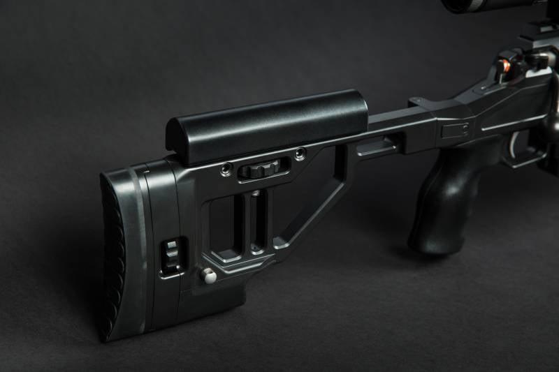 Винтовки. Российская мультикалиберная снайперская винтовка ORSIS F-17
