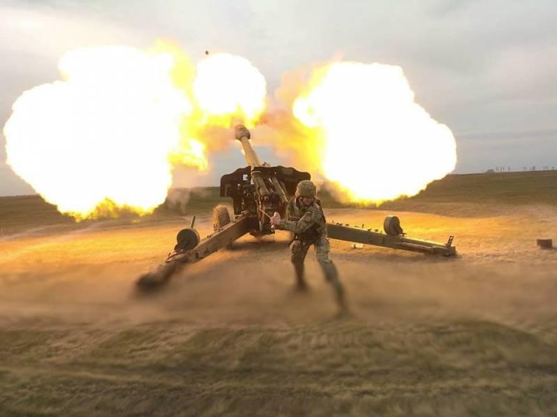 ВСУ обстреляли из артиллерии позиции «Азова» и «Правого сектора»