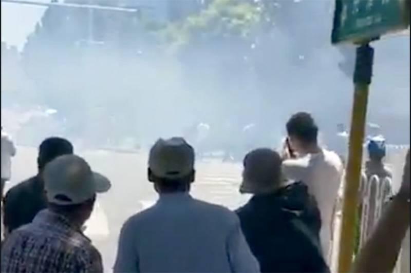 Взрыв у американского посольства в столице Китая