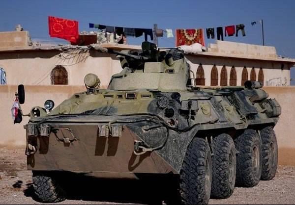 Броня пехоты в Сирии. Часть 2