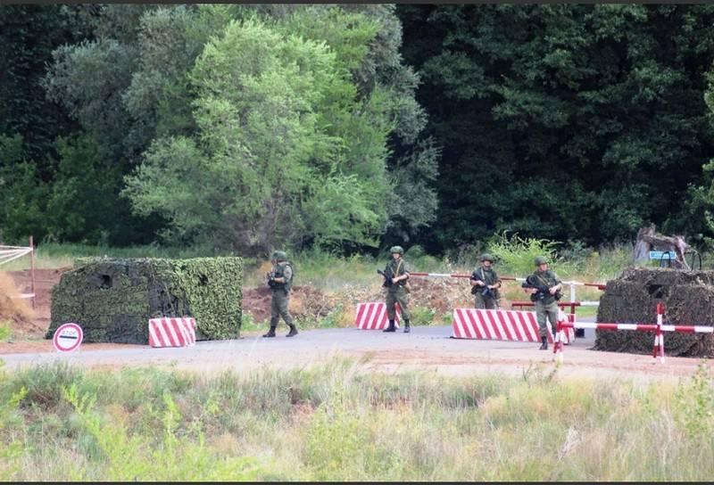 ВТоцком стартовали учения военной милиции — Блокпост итеррористы