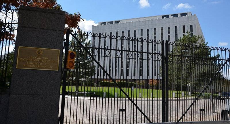 Российское посольство: США вводят новые санкции под надуманным предлогом