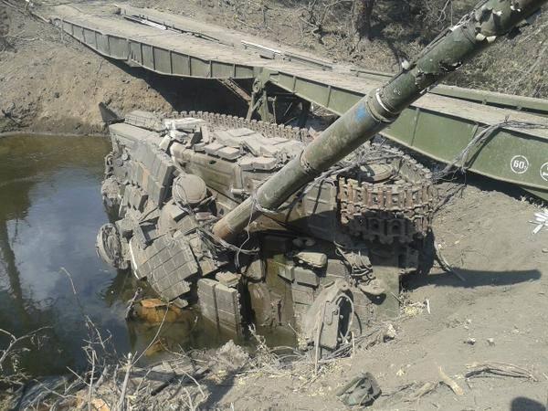 Танки. Боевое применение танков серии Т-64 украинской армией