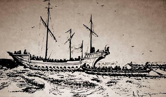 Убыхи. Часть 2. Пираты Чёрного моря