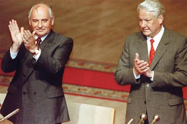 Руцкой поведал опопытках Ельцина сбежать впосольство США вовремя путча