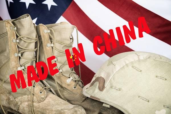 """Армия США получала китайскую обувь под маркой """"Сделано в США"""""""