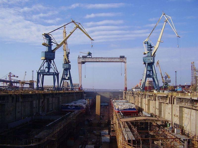 """Конец гражданского судостроения Украины? Николаевский """"Океан"""" выставлен на торги"""