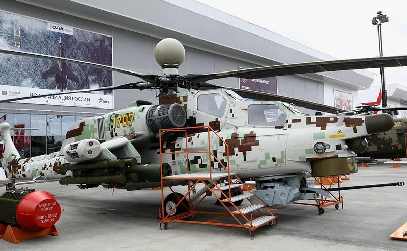 """АО """"Вертолеты России"""" представили модернизированные Ми-28НЭ и Ми-35М"""