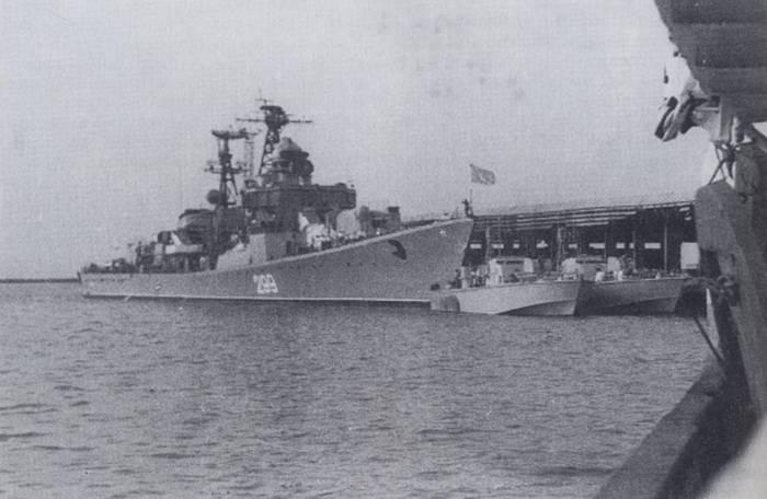 Как советские моряки Гвинею защищали