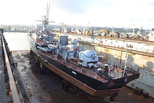 """Корвет """"Винница"""" ВМС Украины вышел с судоверфи без ремонта. Теперь на списание?"""