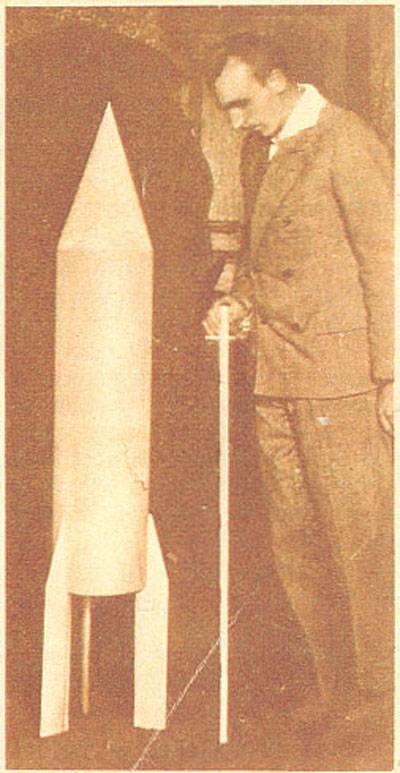 Австрийские проекты систем ракетной почты