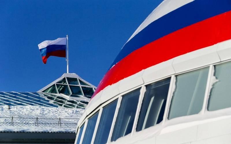 국방부는 러시아 북극에 새로운 방공 기지를 건설하기 시작했다.