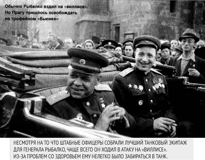 История. Маршал танковых побед. Павел Семёнович Рыбалко