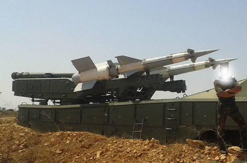 """В ожидании удара. Сирия развернула ЗРК """"Печора-2М"""""""