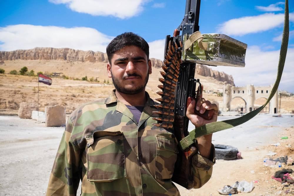 Картинки боевики сирия