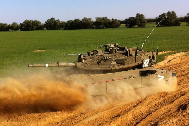 Танки. Проект танка «Меркава-4 Барак». Новая электроника в старом корпусе