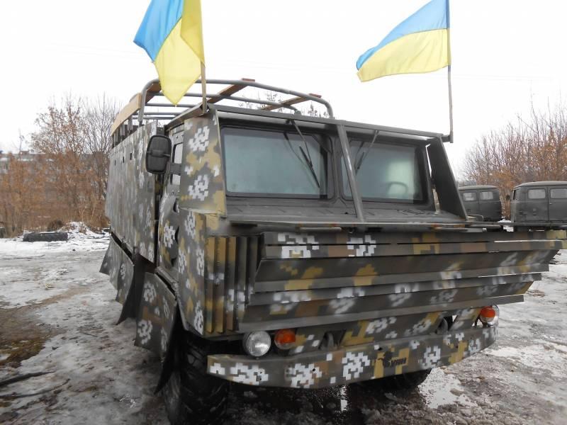 «Шушпанцеры» украинской хунты. Часть 2