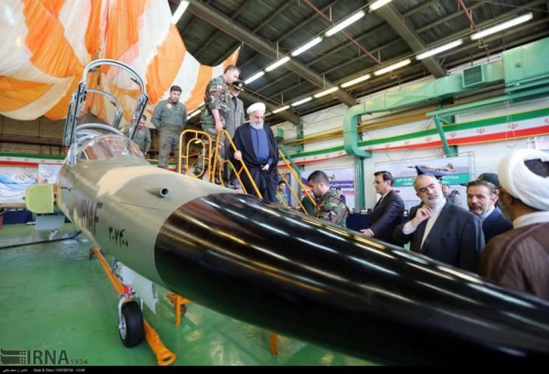 Самолёты. Иран представил собственный истребитель Kowsar