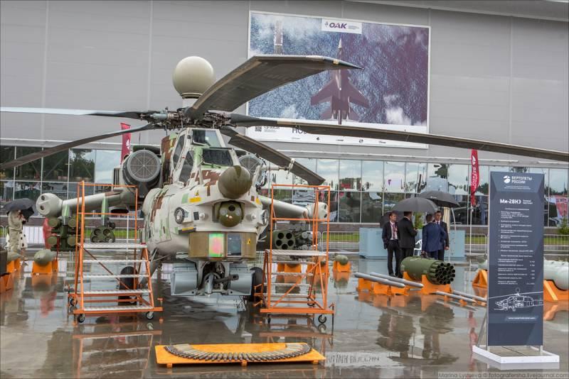 Вертолеты. На что способен ударный вертолет Ми-28НЭ «Опустошитель»