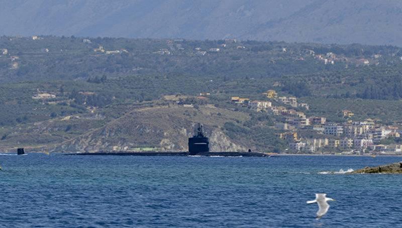 ВСредиземное море вошла атомная подлодка ВМС США скрылатыми ракетами «Томагавк»
