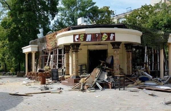 """Охранялось ли кафе """"Сепар"""" в Донецке? Свидетельства посетителей"""