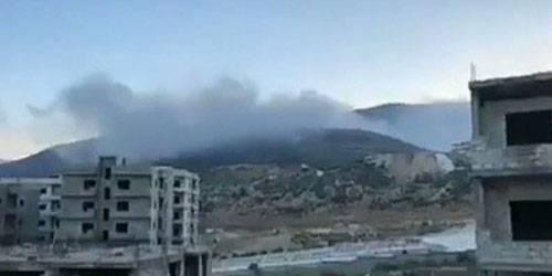 Что стало целью удара ВВС Израиля по территории Сирии?