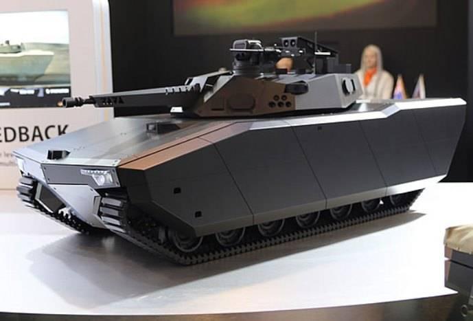 한국은 호주에 BMP Redback을 제안했다.