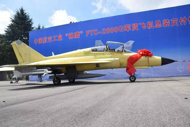 China presented the multifunctional fighter FTC-2000G