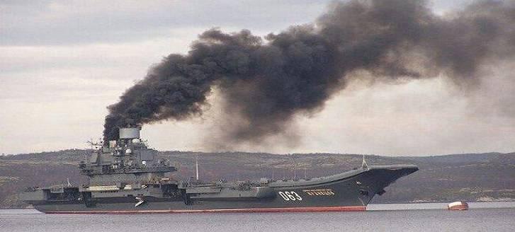 """В США """"Адмирал Кузнецов"""" назван одним из худших авианосцев в мире"""