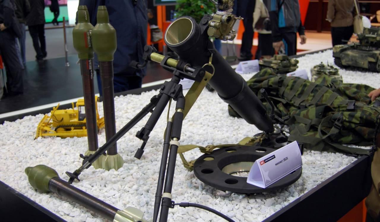 Российский миномет «Галл» произвел впечатление на экспертов из КНР