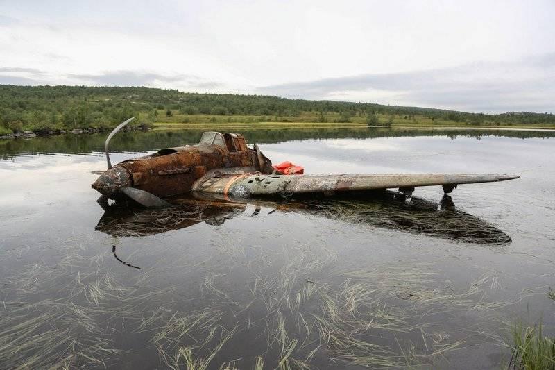 В Новосибирске отреставрируют Ил-2, обнаруженный на Кольском полуострове