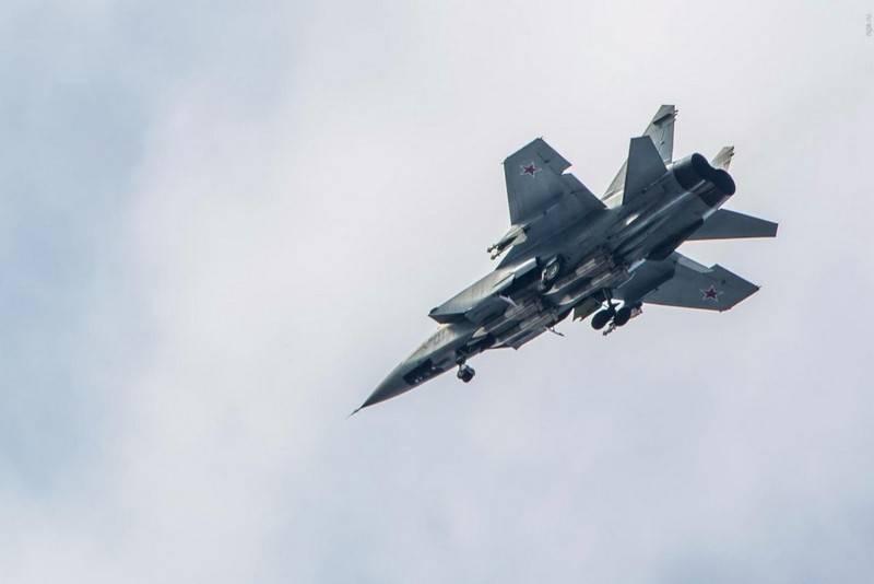 В Нижегородской области разбился перехватчик МиГ-31
