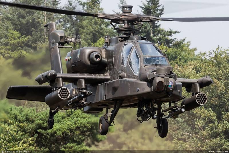 ВВС Нидерландов модернизируют вертолёты AH-64D Apache