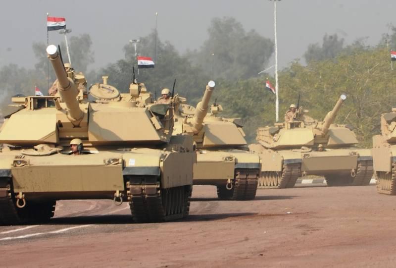 Египет заказал в США партию снарядов для своих танков M1A1 Abrams