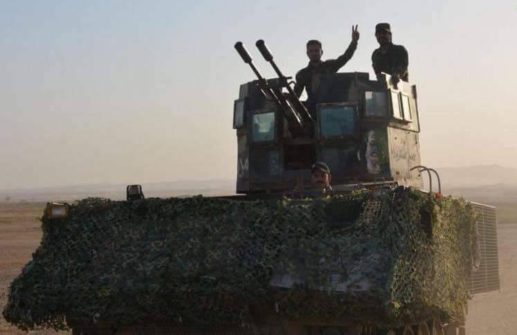 Иракцы превратили БТР М113 в машины боевой поддержки