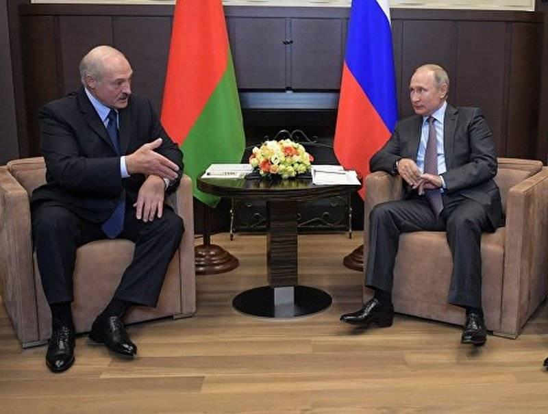 Лукашенко: Прошедшие переговоры с Путиным были очень тяжелыми