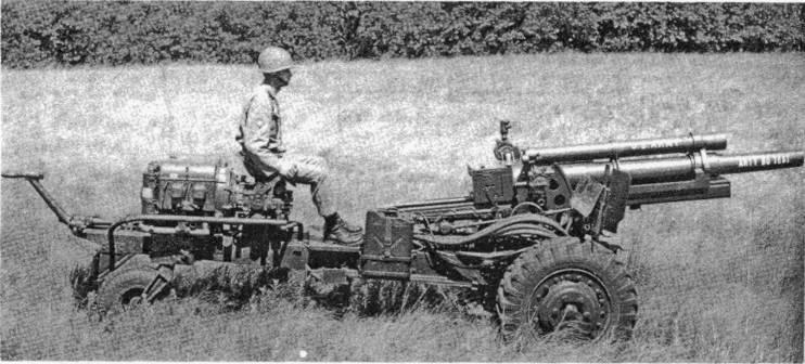 Самодвижущееся орудие XM124 (США)