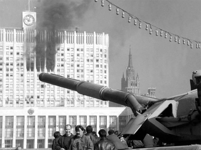 История. 1993 Чёрная осень «Белого дома». Из записок москвича (часть 2)