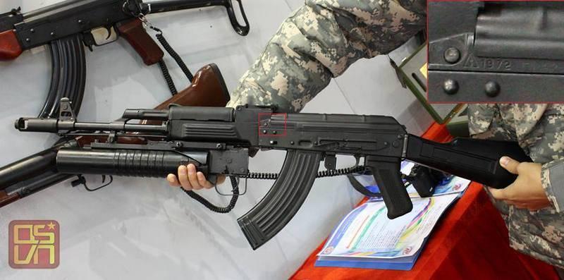 Вьетнам начал выпуск автомата STL-1A на базе советских АКМ и АК-74М