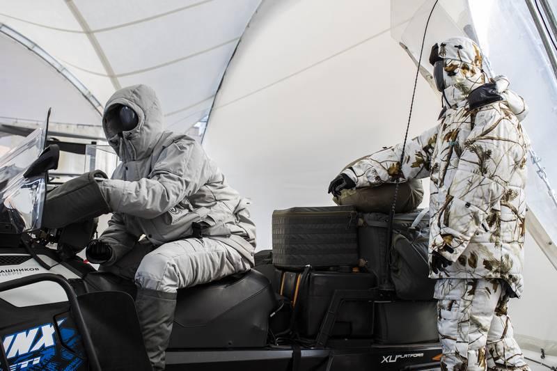 Калашников: Арктическая экипировка для российских военных уже создана