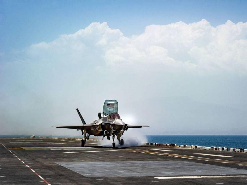 США применили F-35 в Афганистане. Какова реальная цель?