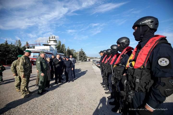 Аваков пообещал на Азовском море новую «компоненту»