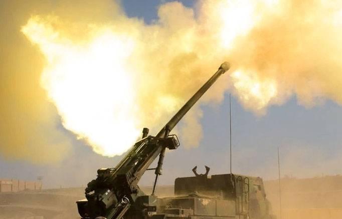 Французские военные вспомнили, зачем они в Сирии. Применение CAESAR в Дейр-эз-Зоре