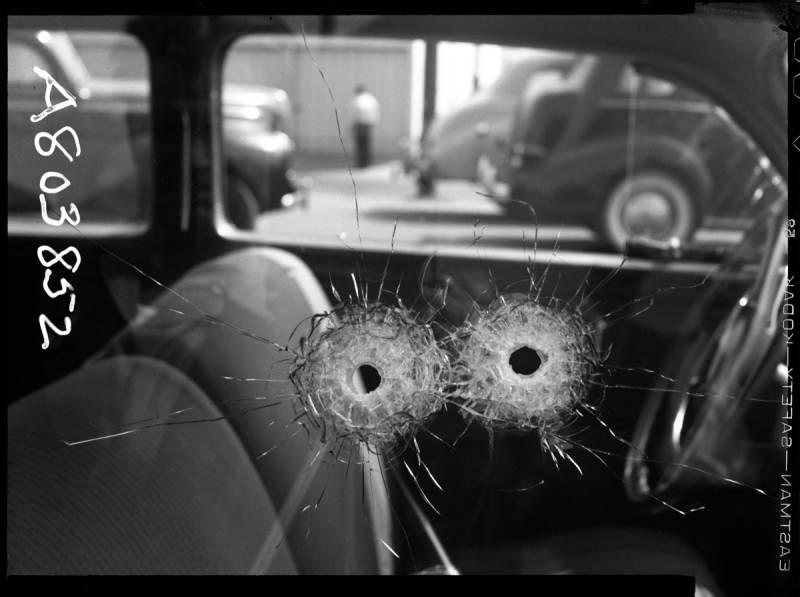 """С выставки """"Фото полицейских репортеров Чикаго"""""""