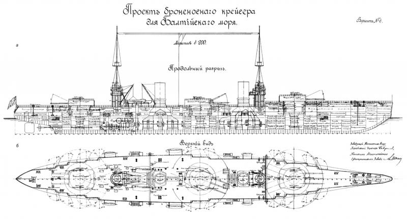 """Линейные крейсеры типа """"Измаил."""" Часть 1"""