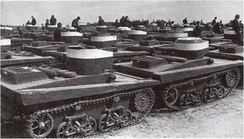 Танки. Малый плавающий танк Т-37А