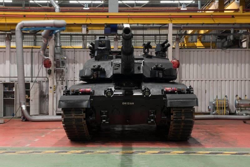 Танки. «Чёрная ночь»: вариант модернизации танка Challenger Mk 2 от BAE Systems