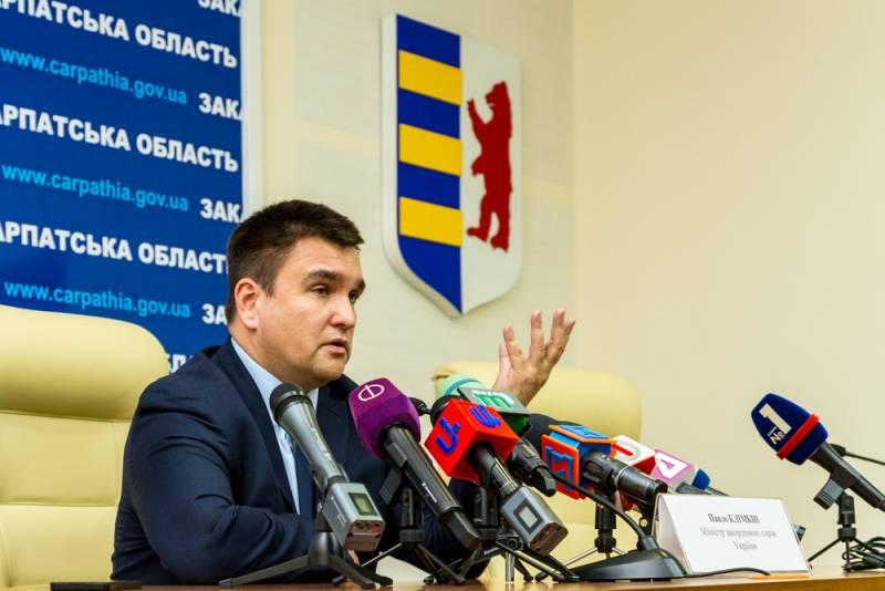 Климкин: венгерский консул будет выслан
