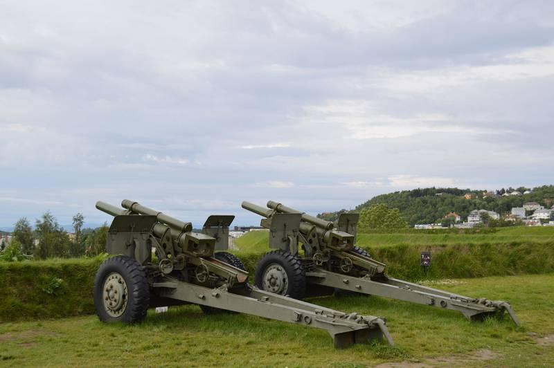 Артиллерия. Самодвижущееся орудие XM124 (США)